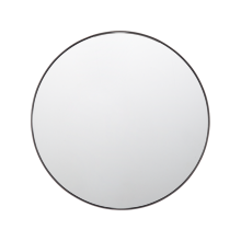 "30"" Metal Framed Mirror - Round"