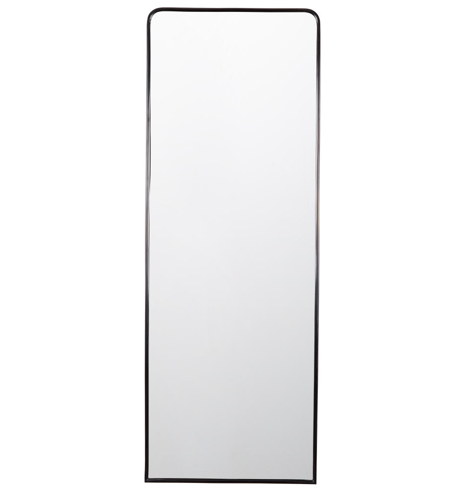Metal framed mirror floor length rejuvenation for Black floor length mirror