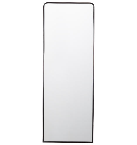 Metal framed mirror floor length rejuvenation for Black framed floor length mirror