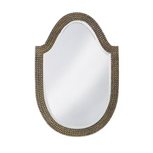 Studded Shield Mirror