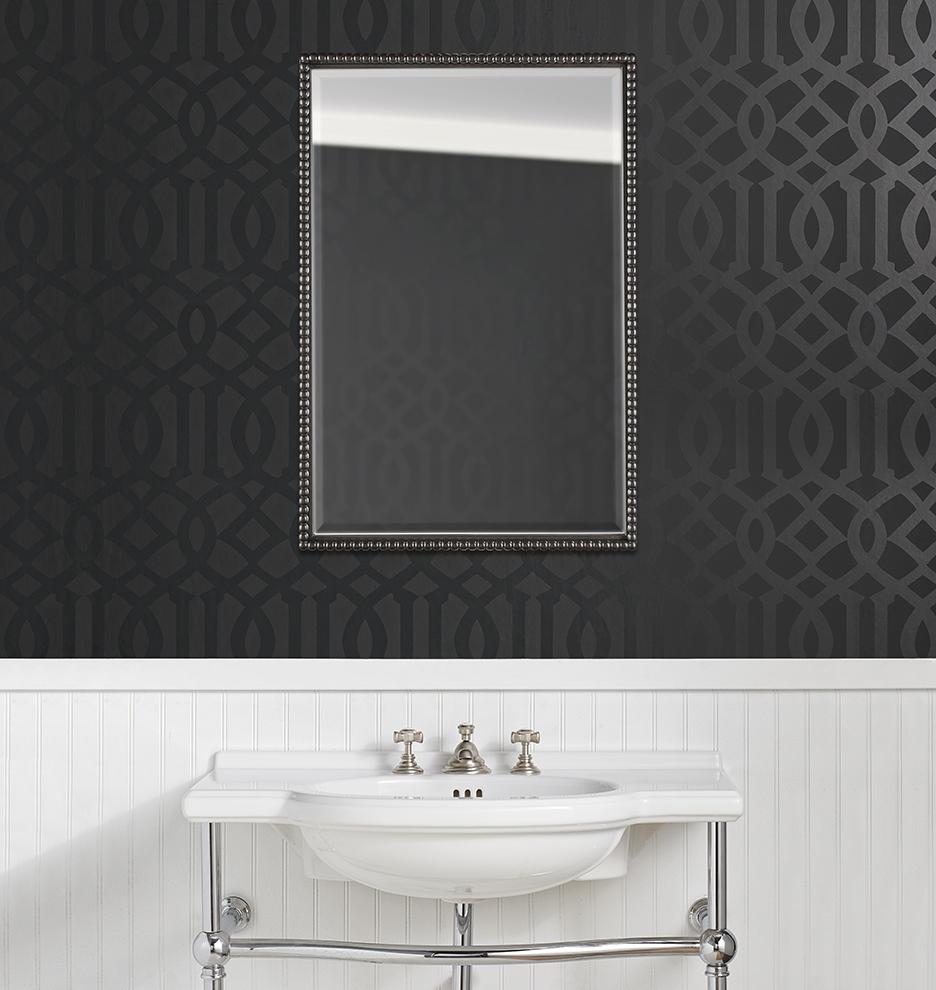 Williams sonoma home five panel beveled mirror - Z022296 E1139 Z022296 Mirror Alt M