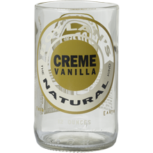 Creme Vanilla Bottle Glass