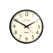 Black Schoolhouse Wall Clock