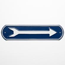 Irwin Hodson Arrow Sign