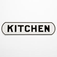 Irwin Hodson Kitchen Sign