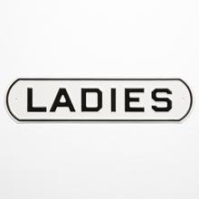 Irwin Hodson Ladies Sign