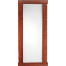Dard Hunter Oak-Framed Mirror