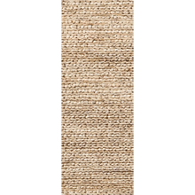 2.5' x 8' Woven Jute Rug