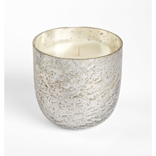 Luxe Sanded Mercury Scented Candle