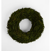 Preserved Cypress Wreath