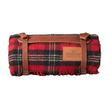 Pendleton Red Tartan Travel Blanket