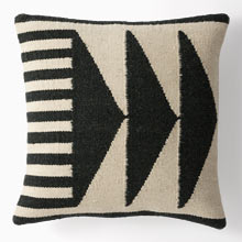Triangles Wool Kilim Pillow