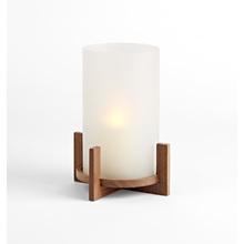 Mid-Century Walnut Lantern
