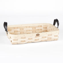Ash Wood & Leather Tray