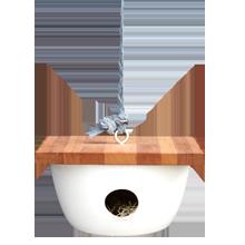 Pigeon Toe Birdhouse