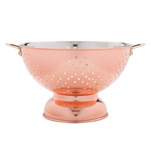 Copper Colander - 9 in