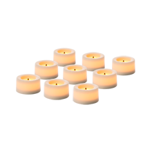 Flameless Tealight Candles - Set of 9