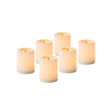 Flameless Votive Candles - Set of 6