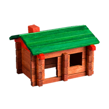 Original Log Cabin Toy