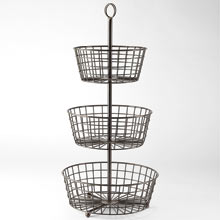 3-Tier Wire Basket
