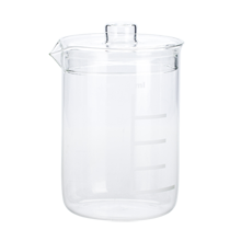 Lidded Lab Glass Canister