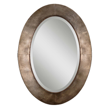 Handforged Oval Mirror