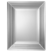 Stepped Rectangle Mirror
