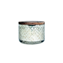 Mercury-Glass Bowl Candle