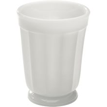 Milk Glass Tumbler