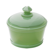 Jadite Butter Tub