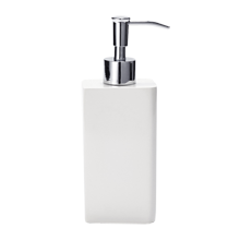 White Lacquered Soap Dispenser