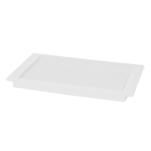 White Lacquered Bathroom Tray
