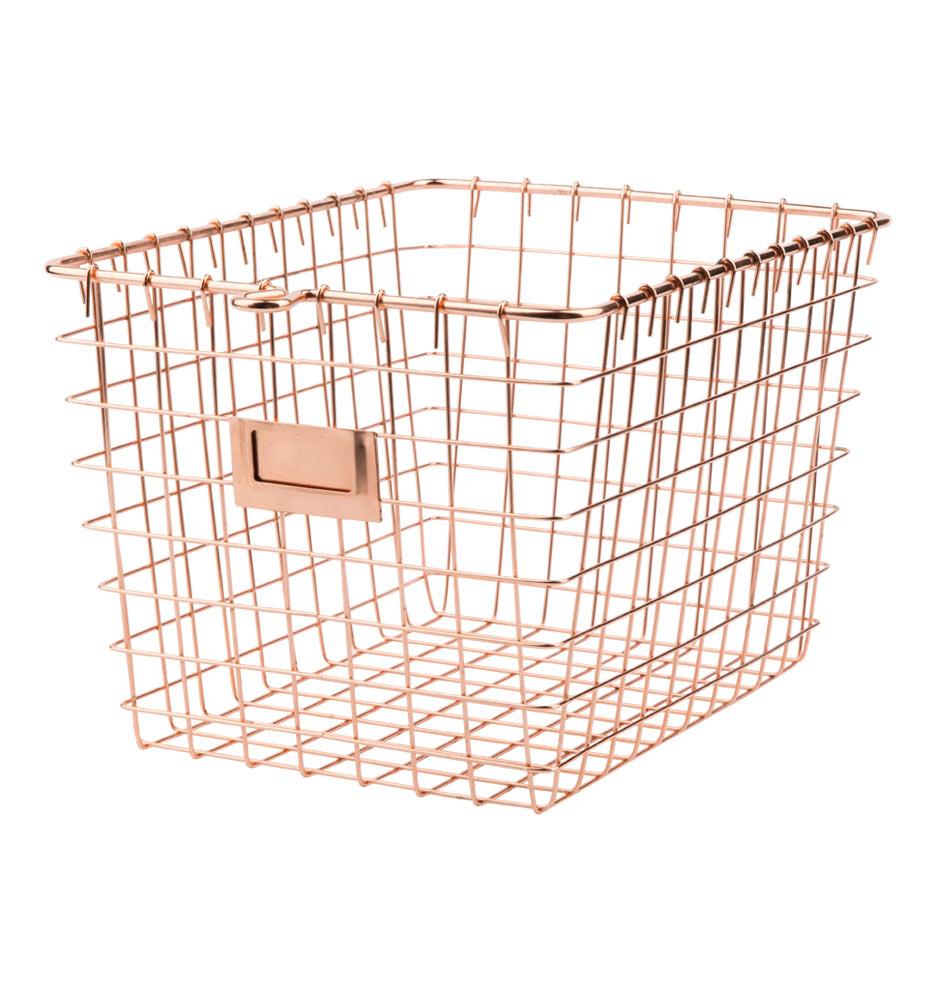 copper wire basket uk images. Black Bedroom Furniture Sets. Home Design Ideas