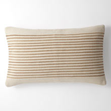 Woven Mohair Striped Pillow Cover