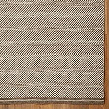 Diagonal Weave Rug - Gray