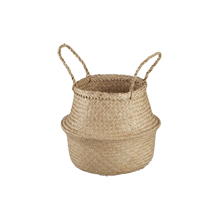 Convertible Seagrass Basket, Small