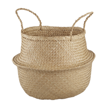 Convertible Seagrass Basket, Large