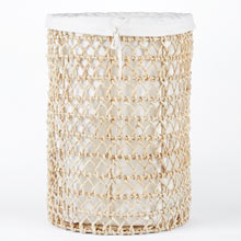 Knotted Abaca Basket
