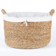 Woven Water Hyacinth Basket