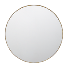 "36"" Metal Framed Mirror - Round"