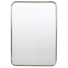 "30"" x 40"" Metal Framed Mirror - Rounded Rectangle"