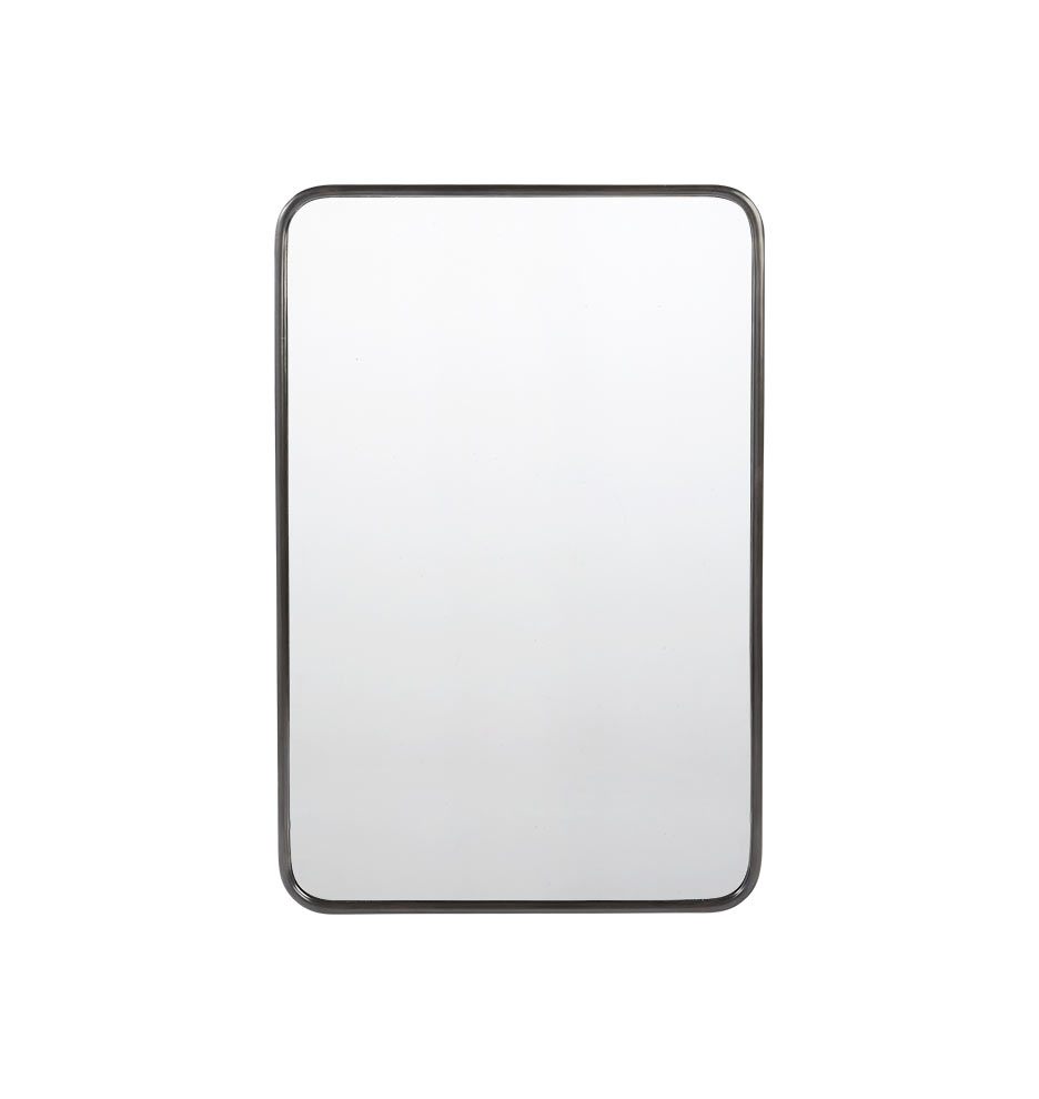 20 x 30 metal framed mirror rounded rectangle rejuvenation