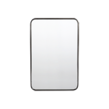 20 x 30 metal framed mirror rounded rectangle