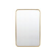 "20"" x 30"" Metal Framed Mirror - Rounded Rectangle"