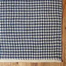 Houndstooth Stripe Indoor/Outdoor Rug