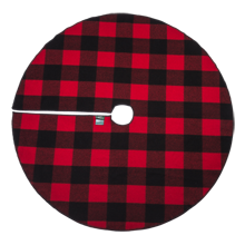 Woolrich Red Rough Rider Tree Skirt - Red