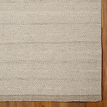 Diagonal Weave Rug - Natural