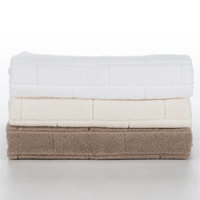 Organic 700-Gram Hydrocotton Subway-Tile Bath Towel