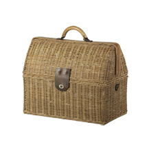 Small Rattan Doctor's Bag