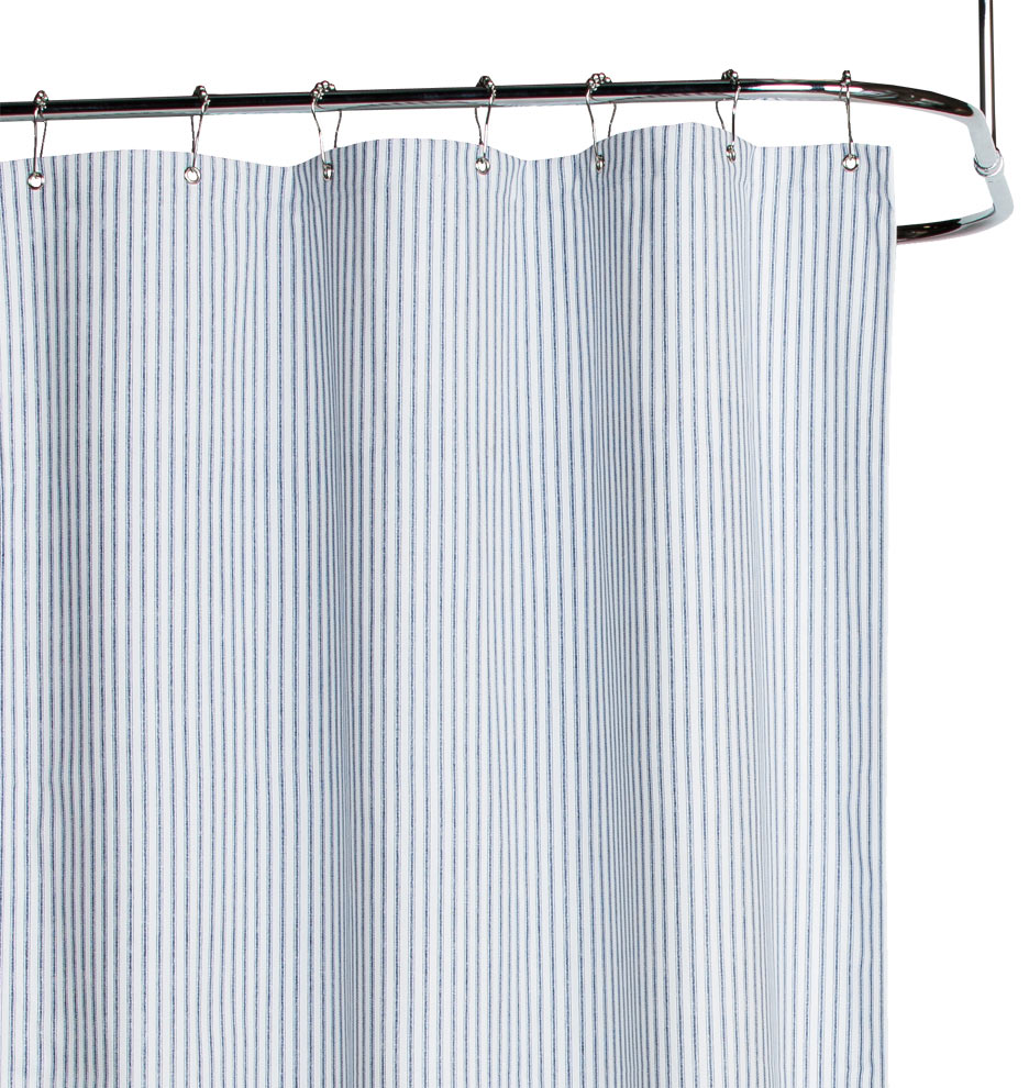 Corner Window Curtain Rod Connector Rubber Duck Shower Curtain